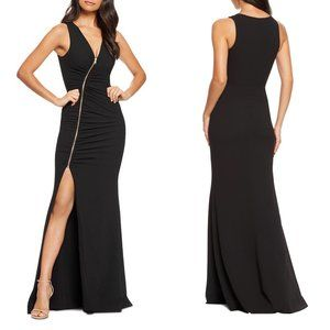 Dress the Population Cher Zip Front Gown NWT